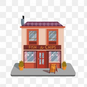 Vector French Fries Fast Food Restaurant - Cafe Chinese Cuisine Five Nights At Freddys Buffet Fast Food PNG