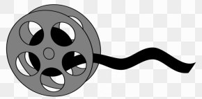 Film Reel Clipart - Film Reel Cartoon Clapperboard Clip Art PNG