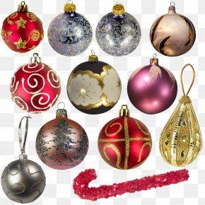 Spherical - Christmas Ornament Ball Clip Art PNG