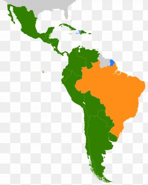 Latin American Cliparts - United States Latin America South America Map PNG