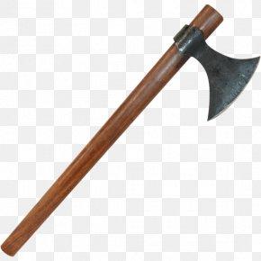Axe - Early Middle Ages Throwing Axe Dane Axe Battle Axe PNG