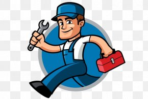 Ustads Clip Art Plumber - Handyman Home Repair Vector Graphics Clip Art Illustration PNG