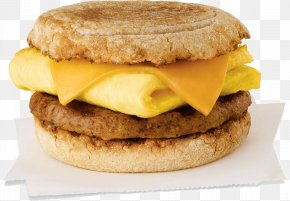Breakfast - Breakfast Sandwich English Muffin Bacon, Egg And Cheese Sandwich Cheeseburger PNG