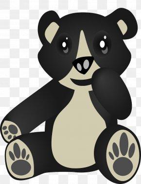 Black Bear - Polar Bear American Black Bear Sloth Brown Bear PNG