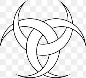 Diane Cliparts - Triple Goddess Symbol Lunar Phase Crescent Moon PNG