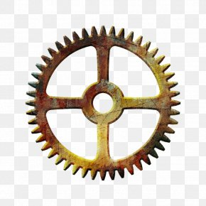Steampunk Gear Transparent - Gear Steampunk Clip Art PNG