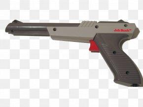 Laser Gun - NES Zapper Wii Zapper Firearm Nintendo Entertainment System PNG