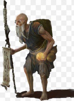 Holding The Old Beggar Of The Dragon Ball - Human Behavior Homo Sapiens PNG