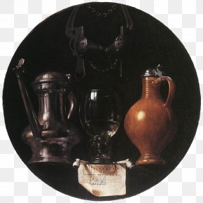 Still Life - Rijksmuseum Emblematic Still Life With Flagon, Glass, Jug And Bridle Painting Painter PNG