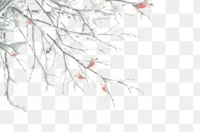 Winter Tree Branches - Twig Branch Tree Winter PNG