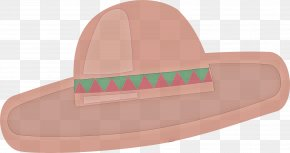 Fashion Accessory Headgear - Pink Hat Headgear Fashion Accessory Clip Art PNG