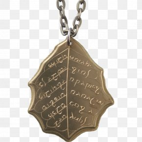 Brass - The Lord Of The Rings Jewellery Necklace Earring Galadriel PNG