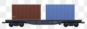 Train - Train Rail Transport Passenger Car Goods Wagon PNG