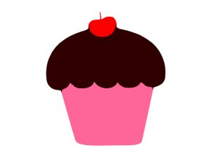 Pink Cupcake Clipart - Cupcake Muffin Frosting & Icing Cartoon Clip Art PNG