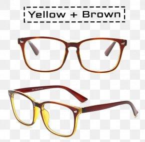 Glasses - Sunglasses Near-sightedness Lens Optics PNG