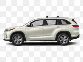 Toyota - 2018 Toyota Highlander Hybrid Limited Platinum Car 2018 Toyota Highlander Hybrid XLE Sport Utility Vehicle PNG