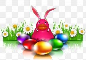 Easter - Easter Bunny Easter Egg Resurrection Of Jesus Egg Decorating PNG