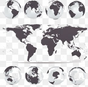 Maps And Earth - Globe World Map Vector Map PNG