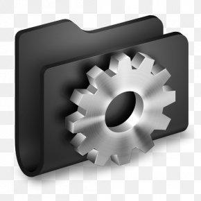 Developer Black Folder - Hardware Accessory Angle PNG