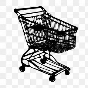 Shopping Cart - Shopping Cart Drawing Clip Art PNG