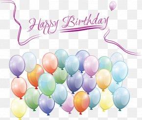 Creative Birthday - Birthday Greeting Card Illustration PNG