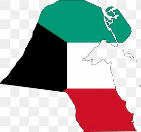 Flag - Flag Of Kuwait Map National Flag PNG