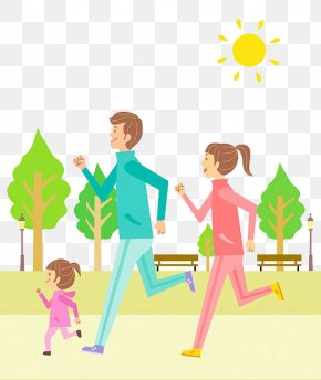 Family Running - 8 Keys To Old School Parenting For Modern-Day Families 8 Keys To Parenting Children With ADHD 21 Days To A Happier Family 9 Ways To A Resilient Child PNG