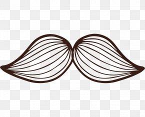 Hand-painted Pattern Beard - Beard PNG