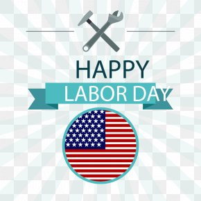 Light Radiation Background With The US Labor Day Flag - Light Euclidean Vector Labor Day Icon PNG