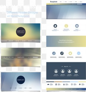 Vector Web Design Renderings - Web Template Web Design Web Page World Wide Web PNG