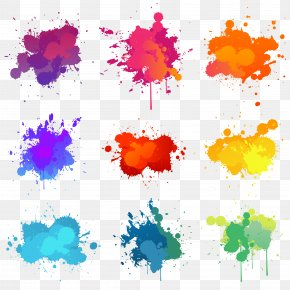 Color Pigment Splash Background - Paint Stock Illustration Illustration PNG