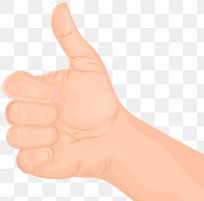 Thumbs Up Hand Gesture Transparent Clip Art - Thumb Hand Model Nail PNG