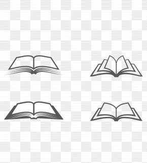Vector Material Open Book - Book Icon PNG