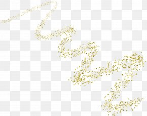 Gold Particles - Material Yellow Body Piercing Jewellery Pattern PNG