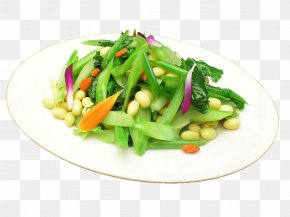 Kale Soy - Chinese Broccoli Chinese Cuisine Fried Rice Vegetarian Cuisine Vegetable PNG