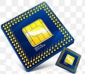 Fashion Creative Phone Memory Cards Computer CPU - Microphone Headphones Bluetooth Wireless Headset PNG