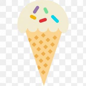 Ice Cream - Ice Cream Cream & Cones Italian Ice Sundae PNG
