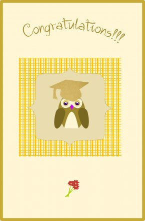 Congratulations - Wedding Invitation Graduation Ceremony Greeting & Note Cards Graduate University Gift PNG