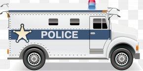 Vector Police Car - Royalty-free Police Euclidean Vector Icon PNG