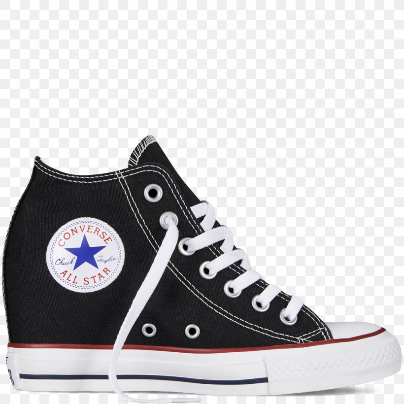 Chuck Taylor All Stars Converse Sneakers Wedge High top, PNG