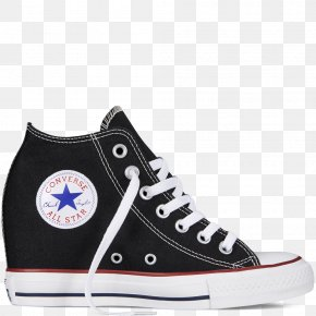 High-heeled - Chuck Taylor All-Stars Converse Sneakers Wedge High-top PNG