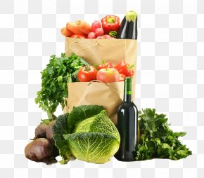 A Variety Of Fruits And Vegetables - Food Vegetable Auglis Herb PNG
