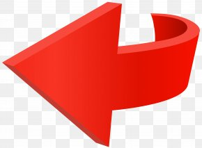 Left Red Arrow Transparent Clip Art Image - Arrow Red PNG