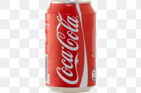 Coca Cola Can Image - Coca-Cola Carbonated Drink Aluminum Can PNG