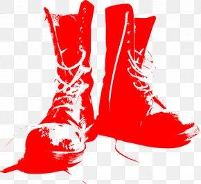Combat Boot - T-shirt Combat Boot Shoe Soldier PNG
