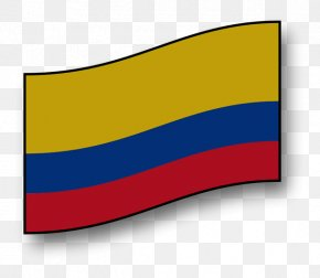 American Flag Background - Flag Of Colombia Drawing Image PNG