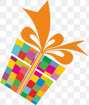 Gift - Paper Birthday Gift Wrapping Clip Art PNG