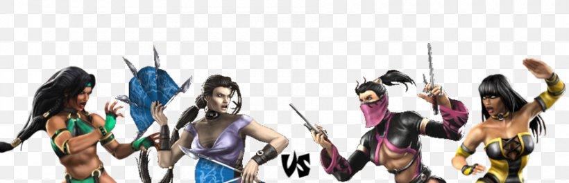 Jade and Kitana vs Mileena and Tanya