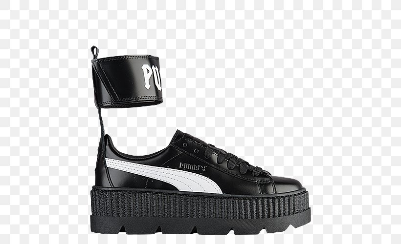 Sports Shoes Brothel Creeper PUMA CRP Cracked Leather, PNG