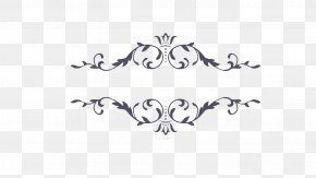 Ornament Arrow - Decorative Borders Clip Art Borders And Frames Image PNG